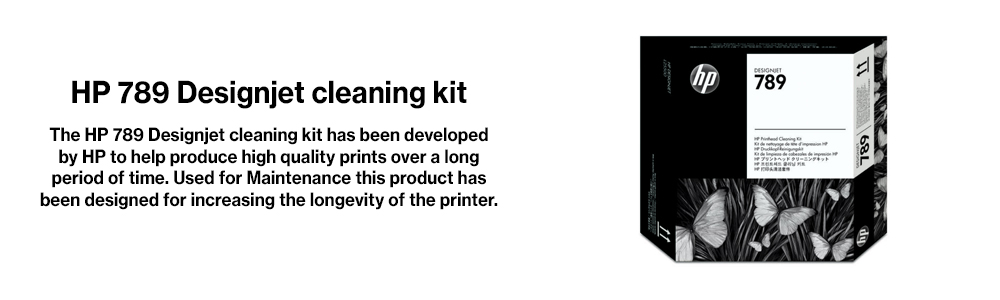 Hewlett Packard No  789 Printhead Cleaning Kit | CH621A | HP